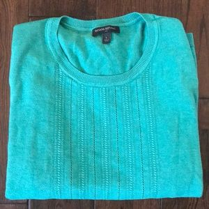 Banana Republic teal size large sweater 🎉